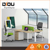 Modern economy office furniture two person cubicle office desk