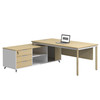 office desk modern Of l shape executive office table specifications Of commercial furniture chair