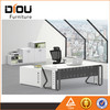 Top quality executive modular office furniture desk with stainless steel