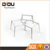 High quality office furniture stainless steel frame