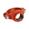 Ductile iron grooved mechanical tee/mechanical joint tee