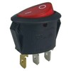 SC760 baokezhen switch On-Off with lamp 2/3 pin Oval Rocker Switches