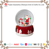 Hot sale custom red Christmas snow globe