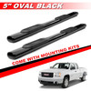 "5"" Black Side Step Runnning Board For 1999-2017 Silverado"
