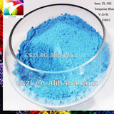 Ceramic Pigment Turquoise Blue ZL-502 Ceramic Glaze Pigments Powder Used in Ceramic/water based ink,/Offset Ink/Printing
