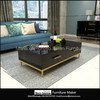 living room furniture sets gold mirrored high gloss coffee table, tv stand,console table,desk,chest of drawers