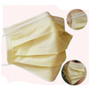 Wholesale low price dental mouth cover face mask yellow