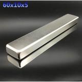 60x10x5 mm Strong Neodymium Magnets Block NdFeB Rare Earth Craft DIY Powerful magnet N35