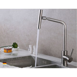 European style stainless steel 304 material drip-free  hot and cold water  Sink faucet Kitchen faucet MKF-15