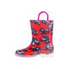 lighs-up fancy boys cool truck stylish children pvc rain boots