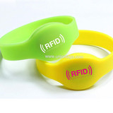 Low Cost 13.56mhz Writable Ultralight Chips Silicone Rfid Wristband