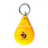 Colorful plastic RFID key tags EM4450 Keyfobs for security door access control