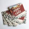 customizd absorbent paper coaster