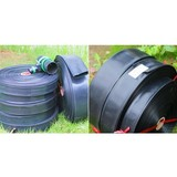 Micro spray belt for agricultural irrigation