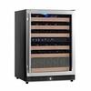 54bottles wine display fridge/ wine cellar/wine cooler 220v,100v