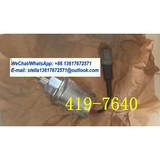 Solenoid As-(12-Volt)(Fuel Shutoff) 419-7640/4197640/425-7981/4257981 Fits CAT 3013 C1.1 C1.5 C2.2 Industrial Engine Spare Parts