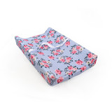 Size 80* 47*10cm Floral striped Soft Newborn baby Changing Pad covers
