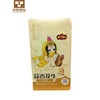 Stand Up Pouch Kraft Brown Paper Bag For Dry Fruit Nut Candy Packaging /eight side seal plastic dried food packaging bag