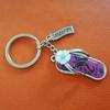 Slipper souvenir keychain