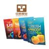 Printing food grade dry fruit stand up Plastic bag dry fruit packaging  snack food bag customized Aluminum foil bag