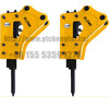 CTHB10 40mm hydraulic breaker hammers suit for 0.8-2.5tons excavator digger