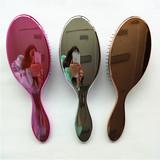 Plastic hair brush wet hair brush