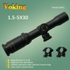 1.5-5X30 magnifier scope with your own APP