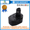 Cellularmega 2500mah 14.4V Replacement Battery for Black & Decker PS140 FireStorm 14.4-Volt NiMH Pod Style Battery Black and Decker 14.4v Battery