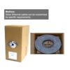 Cat 6 lan cable / network cable 305 meters,UTP ,FTP  can custom