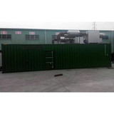 2MW natural gas generator, container silent type, 2MW CHP generator