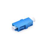 LC Singlemodle Fiber optic Adaptor Simplex/Duplex  Blue color Adaptor
