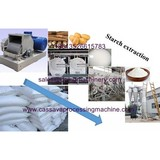 Cassava starch extraction technology and machine