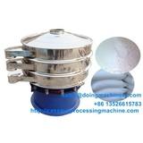 Vibration sieve cassava starch flour sieveing machine