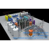 High fructose syrup production process machine