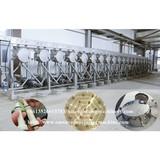 Professional cassava starch making machine sale to Nigeria
