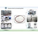 Casssava starch production machine cassava starch processing equipment