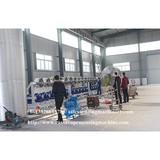Cassava flour making machine in cassava flour factory