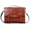 Vintage Ladies Cambridge Backpack Faux Leather Briefcase Shoulder Laptop Messenger Satchel Bag