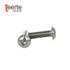 hex socket oval head stainless steel screw ISO7380