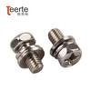 Stainless Steel Phillips Hex Machine Screw Combination Screw Washer Screw