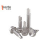 Hex head self drilling screw with EPDM