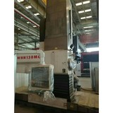 2010 Used Kunming TOS WHN130MC 2-pallet horizontal boring-mill machine