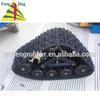 Rubber track system, ATV rubber track,