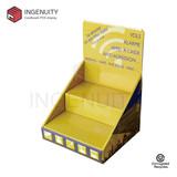 Custom paper countertop display unit CDU-TRAY-021