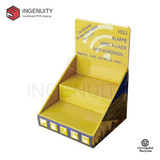 Custom paper countertop display unit CDU-TRAY-021,Food Display Counter,Coin Display Box