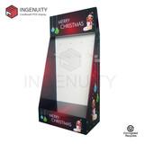 Promotion cardboard display with hooks for christmas gifts FSDU-HOOK-017,Cardboard Hook Display,Paper Hook Display