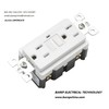UL apprroved GFCI  socket 15a/125v for household/commercial usage