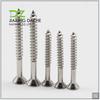 Fastener Stainless Steel Screw Flat Head Self Tapping Screws