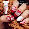 1g clear Nail glue liquid cyanoacrylate nail art for fake nail