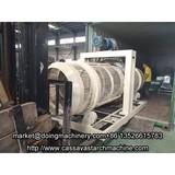 Potato starch processing plant
